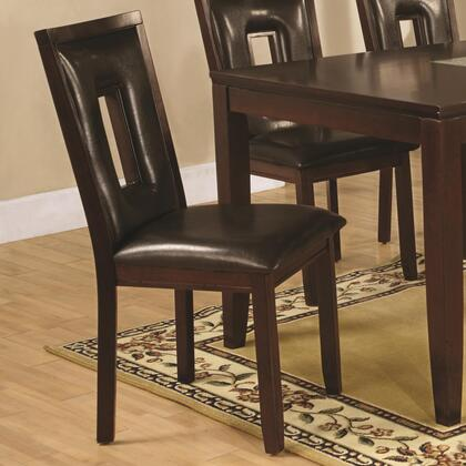 Coaster 102522 Ervin Series Contemporary Wood Frame Dining Room Chair