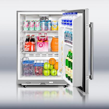 Summit Spr6os Freestanding All Refrigerator Outdoor