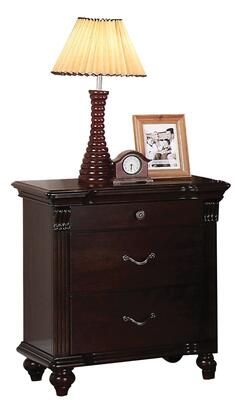 Acme Furniture 21553 Cleveland Series Rectangular Wood Night Stand