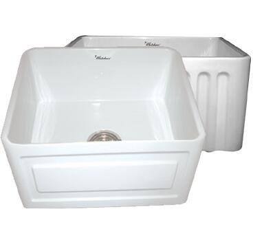 Whitehaus WHFLRPL2418BI Kitchen Sink