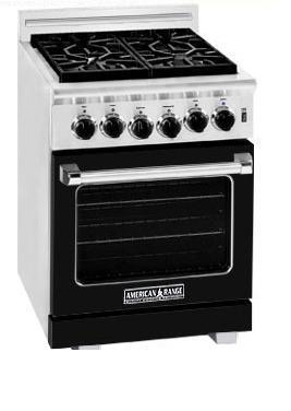 American Range ARR244BK Heritage Classic Series Natural Gas Freestanding
