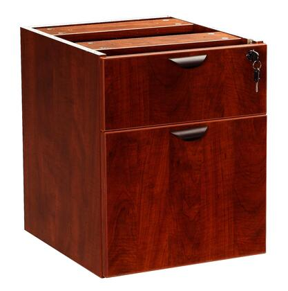 "Boss N108M 16"" Wood Traditional File Cabinet"