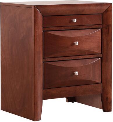 Glory Furniture G1550N  Rectangular Veneers Night Stand