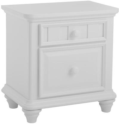 Samuel Lawrence 8466450 Zoe Series Rectangular Wood Night Stand