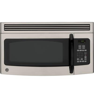 GE JVM1540MPSA 1.5 cu. ft. Over the Range Microwave Oven with 300 CFM, 950 Cooking Watts, in Silver