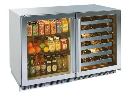 Perlick HP48RWS4L4RDNU Signature Series Counter Depth All Refrigerator with 12.3 cu. ft. Capacity