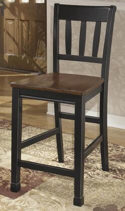 Signature Design by Ashley D580224 Owingsville Series Residential Not Upholstered Bar Stool