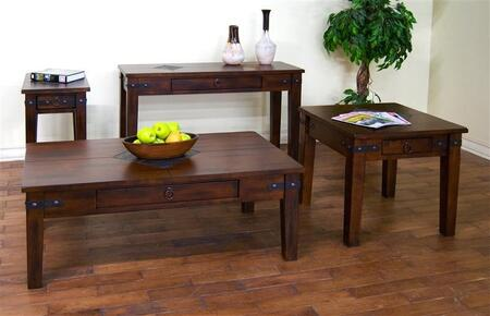 Sunny Designs 3160DCCKIT1 Santa Fe Living Room Table Sets