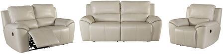 Milo Italia MI4910SLRCREA Jermaine Living Room Sets