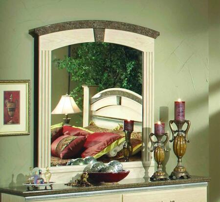 Sandberg 42110 La Jolla Series Arched Portrait Dresser Mirror