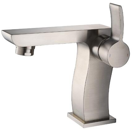 Kraus KEF14601 Exquisite Collection Sonus Bathroom Basin Lever Faucet with Solid Brass Construction and Kerox Ceramic Cartridge, CAL Green