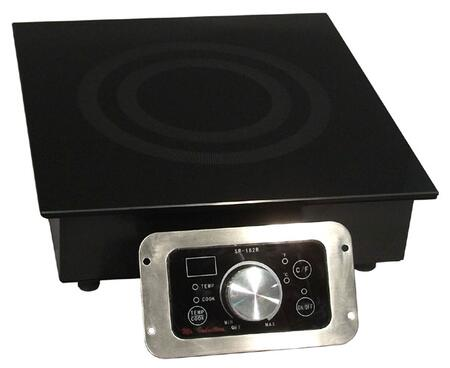 Sunpentown SR182R  Electric Cooktop, in Black