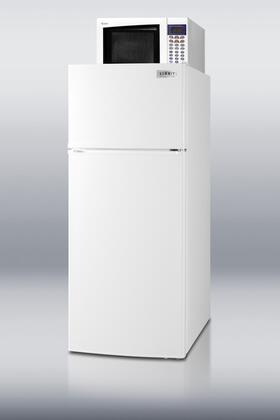 Summit MRF1112  Compact Refrigerator with 10.3 cu. ft. Capacity in White