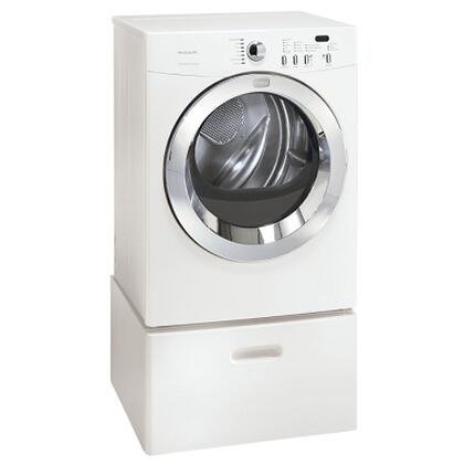 Frigidaire FAQE7077KW Affinity Series Electric Dryer, in White