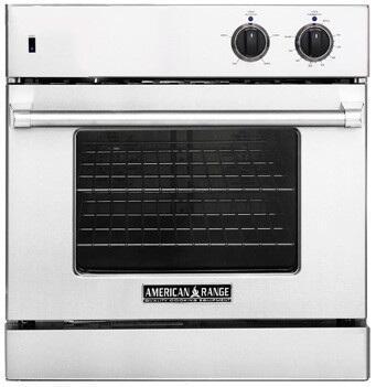 American Range AROSG30BK Single Wall Oven, in Black