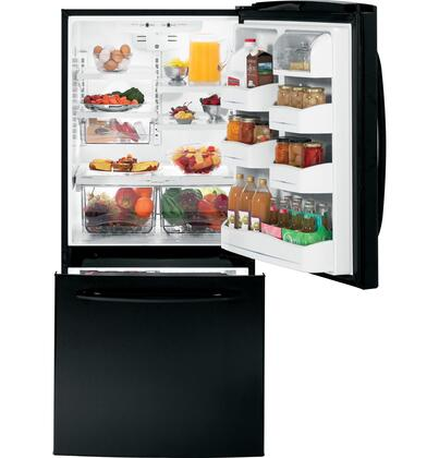 GE GDSC0KCXBB Bottom Freezer Refrigerator |Appliances Connection