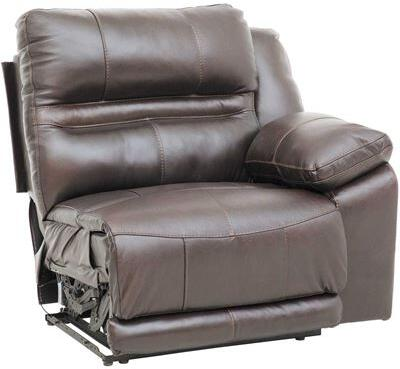 Catnapper 64187128309308309 Bergamo Series Leather Metal Frame  Recliners