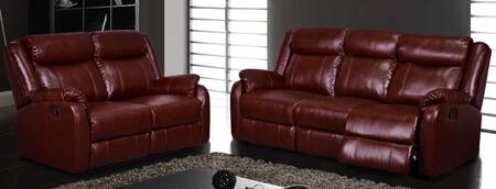 Global Furniture USA U9303BURRSL Living Room Sets