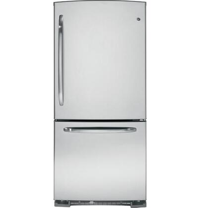 GE GDSS0KCXSS  Bottom Freezer Refrigerator with 20.2 cu. ft. Total Capacity 6.2 cu. ft. Freezer Capacity 4 Glass Shelves  |Appliances Connection