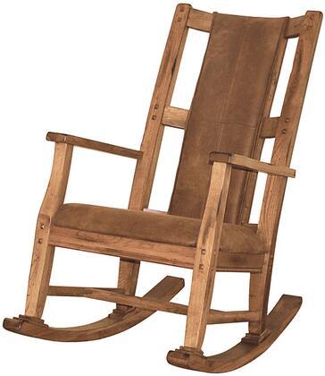 Sunny Designs 1935RO2 Sedona Series  Wood Frame Microfiber Rocking Chair