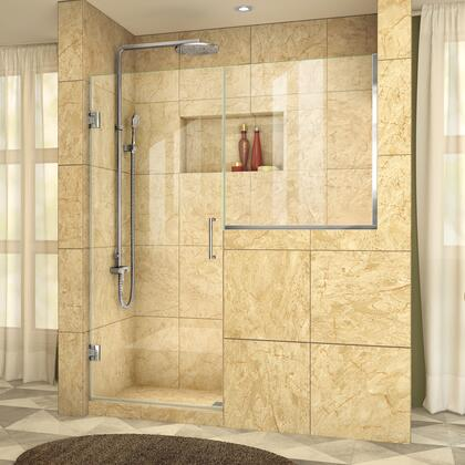 DreamLine UnidoorPlus Shower Door 39 30D 30BP 01