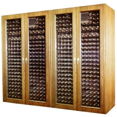 "Vinotemp VINO1400GJB 102"" Wine Cooler"