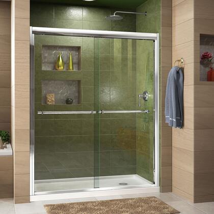 Duet Shower Door RS43 C Base RightDrain