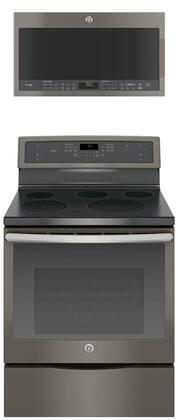 GE Profile 683914 Slate Kitchen Appliance Packages
