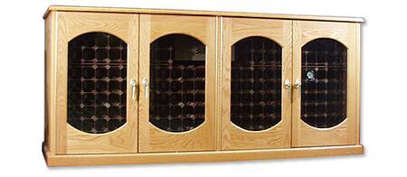 "Vinotemp VINO400CREDLEXDW 88"" Wine Cooler"