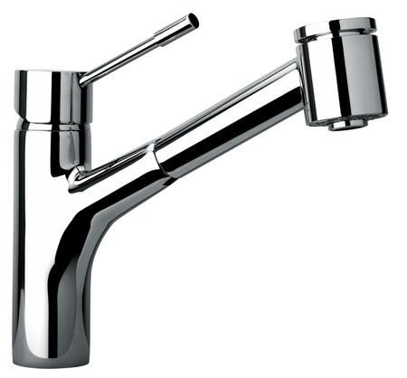 Jewel Faucets 25576XX Single Hole Kitchen Faucet With Pull-Out Spray Head