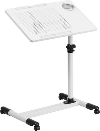 Flash Furniture NANJG06BXXGG Adjustable Height Steel Mobile Computer Desk