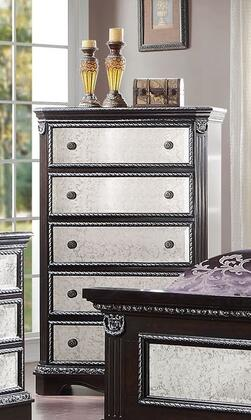 Acme Furniture 20926 Athena Silver Series Wood Chest