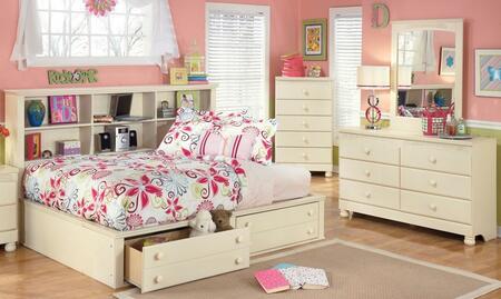 Milo Italia BR303FBSBDMC Burton Full Bedroom Sets