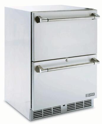 Lynx L24DWR Built In Refrigerator Drawer(s) Outdoor Refrigerator