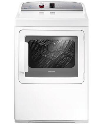 "Fisher Paykel DE7027J1 27"" 7.0 cu. ft. Electric Dryer, in White"