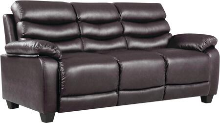 Glory Furniture G563S  Stationary Faux Leather Sofa