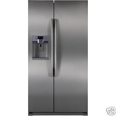 Samsung Appliance RSG257AAPN  Side by Side Refrigerator with 24.5 cu. ft. Capacity