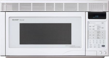 Sharp R1871T 1.1 cu. ft. Capacity Over the Range Microwave Oven