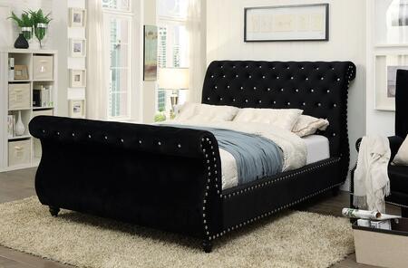 Furniture of America CM7128BKQBED Noella Series  Queen Size Bed