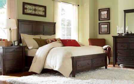 Broyhill ATTICPANELBEDQSET4 Attic Retreat Queen Bedroom Sets