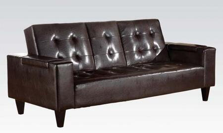 Acme Furniture 05215 Bruce Series Convertible Bycast Leather Sofa
