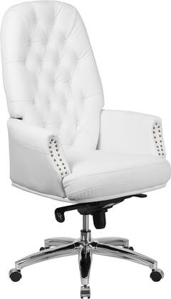 Flash Furniture Multifunction Executive Chair with High Button Tufted Back, Adjustable Height Swivel Seat, Multi-Tilt Lock Mechanism and LeatherSoft Upholstery in