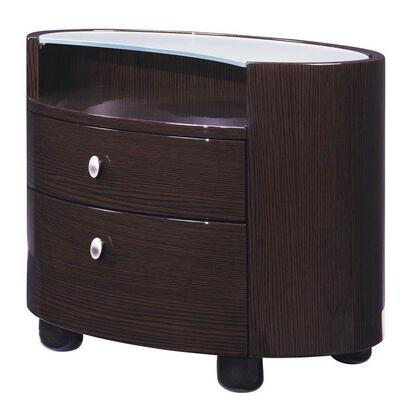 Global Furniture USA EVELYNWNS Evelyn Series  Wood Night Stand