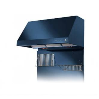 "Heartland 3410XX 36"" Wall Mount Range Hood with 900 CFM Inline Blower, 3 Speed, Heating Lamps and Automatic Shut-Off"
