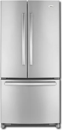 Whirlpool GX2FHDXVA  French Door Refrigerator with 22 cu. ft. Capacity in Monochromatic Satina