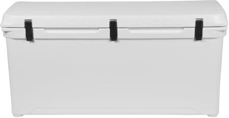 White Cooler Front View   Open Lid
