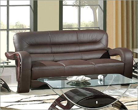 Global Furniture USA 992RVBRS  Ultra Bounded Leather Sofa