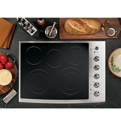 GE Profile PP944STSS Profile Series Electric Cooktop