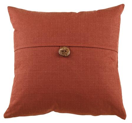 Signature Design by Ashley A10001J Jolissa Set of 6 Pillows with a Button on the Middle and Textured Fabric Covers in
