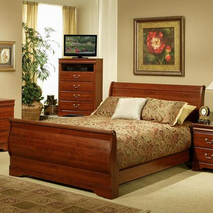 Sandberg 328P Maurice Series  King Size Bed